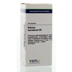 VSM Natrium muriaticum D6 (200 tabletten)