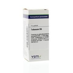 VSM Tabacum D6 (10 gram)