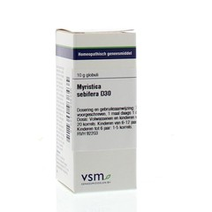 VSM Myristica sebifera D30 (10 gram)