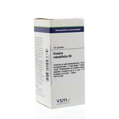 VSM Drosera rotundifolia D6 (200 tabletten)