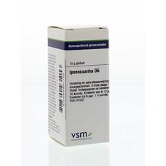 VSM Ipecacuanha D6 (10 gram)