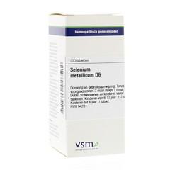 VSM Selenium metallicum D6 (200 tabletten)