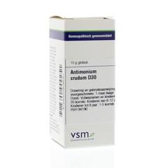 VSM Antimonium crudum D30 (10 gram)