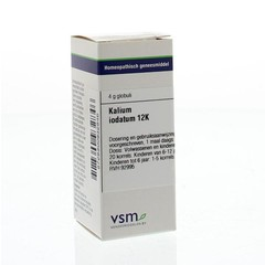 VSM Kalium iodatum 12K (4 gram)