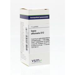 VSM Sepia officinalis D12 (10 gram)