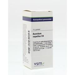 VSM Aconitum napellus D4 (10 gram)