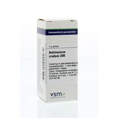 VSM Antimonium crudum 30K (4 gram)