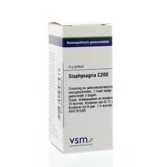VSM Staphysagria C200 (4 gram)