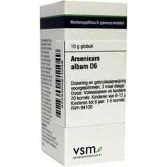 VSM Arsenicum album D6 (10 gram)