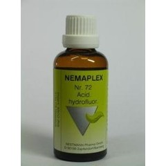 Nestmann Acidum hydrofluor 72 Nemaplex (50 ml)