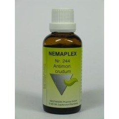 Nestmann Antimonium crudum 244 Nemaplex (50 ml)