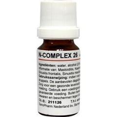Nosoden N Complex 26 sinusit (10 ml)
