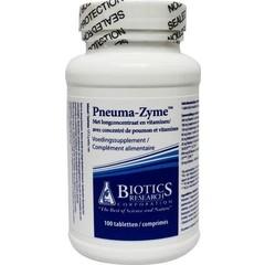 Biotics Pneuma zyme long (100 tabletten)