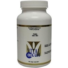 Vital Cell Life PABA 500 mg (100 vcaps)