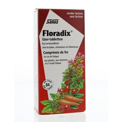 Salus Floradix ijzer tabletten (84 tabletten)