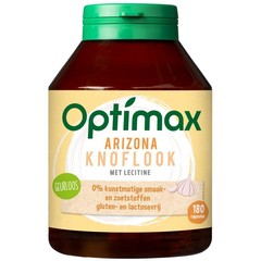 Optimax Arizona knoflook & lecithine (180 vcaps)