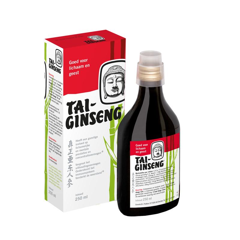 Tai Ginseng Tai ginseng elixer (250 ml)