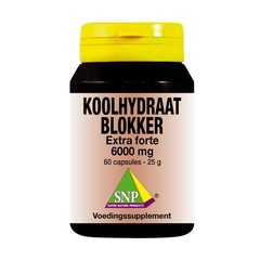 SNP Koolhydraat blokker extra forte 6000 mg (60 capsules)