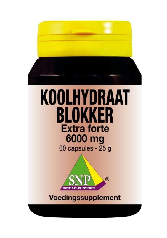 SNP SNP Koolhydraat blokker extra forte 6000 mg (60 capsules)