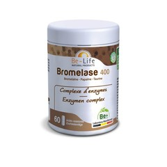 Be-Life Bromelase 400 (60 softgels)