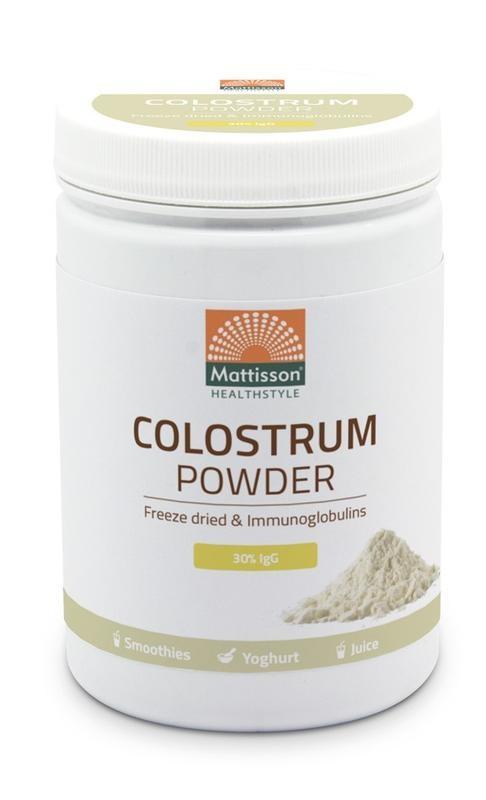 Mattisson Mattisson Colostrum powder poeder 30% IgG (300 gram)