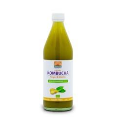 Mattisson Kombucha ginger & matcha double fermented bio (500 ml)