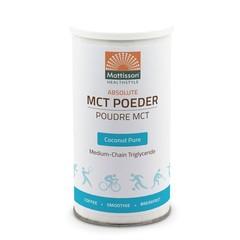 Mattisson MCT Poeder coconut pure (160 gram)