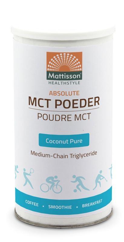 Mattisson Mattisson MCT Poeder coconut pure (160 gram)