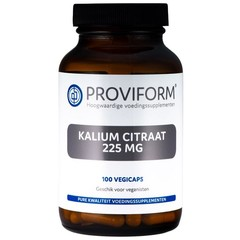Proviform Kalium citraat 225 mg (100 vcaps)