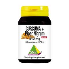 SNP Curcuma & piper nigrum 510 mg puur (60 vcaps)