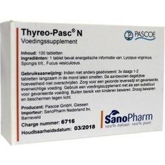 Pascoe Thyreo-pasc (100 tabletten)