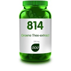 AOV 814 Groene thee extract 250 mg (60 vcaps)