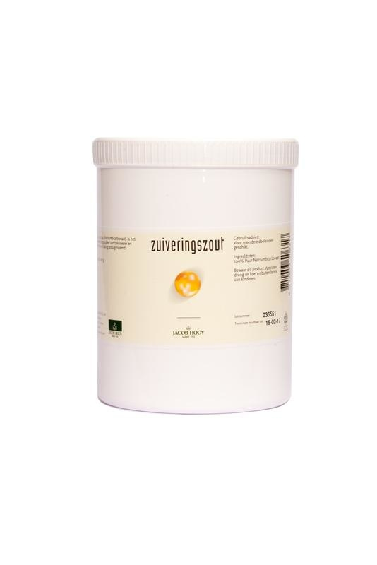 Jacob Hooy Jacob Hooy Zuiveringszout natrium bicarbonaat pot (1 kilogram)