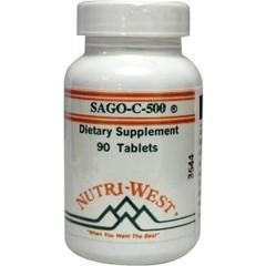 Nutri West Sago C 500 (90 tabletten)