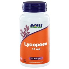 NOW Lycopeen 10 mg (60 softgels)