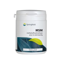 Springfield MSM 1000 mg (120 tabletten)