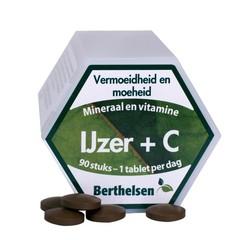 Berthelsen IJzer + C (90 tabletten)