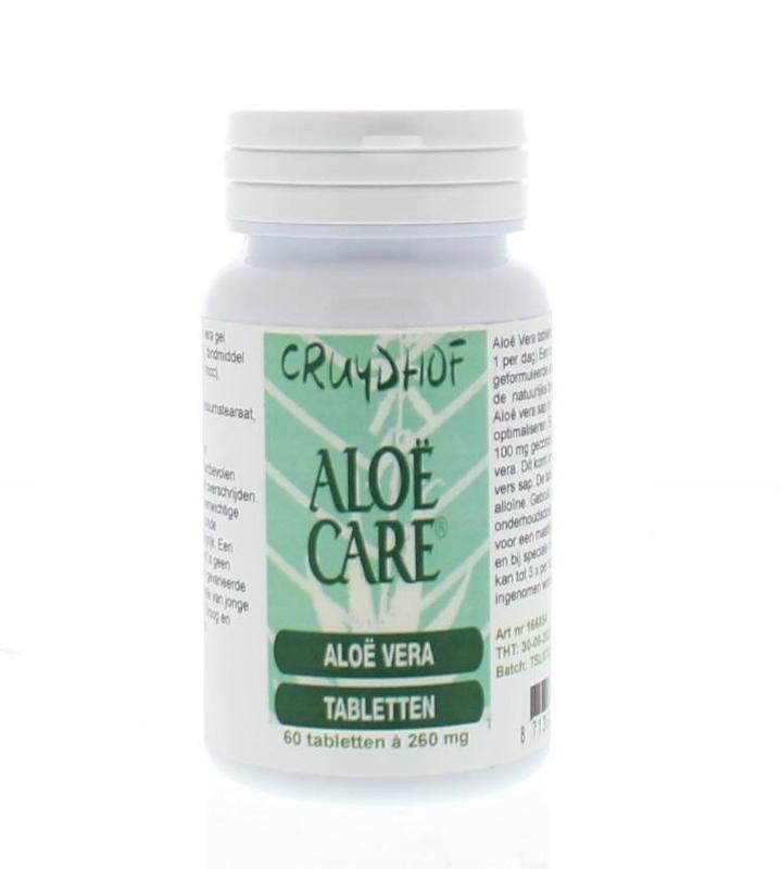 Aloe Care Aloe vera tabletten (60 tabletten)