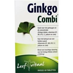 Vemedia Ginkgo combi (60 tabletten)
