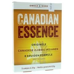 Omega & More Canadian essence 3 x 21 gram (3 zakjes)