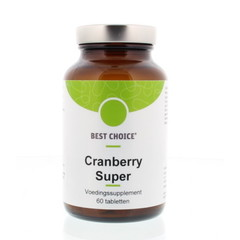 Best Choice Cranberry super (60 tabletten)