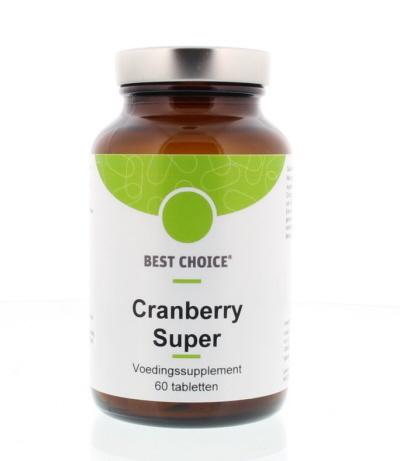 Best Choice Best Choice Cranberry super (60 tabletten)
