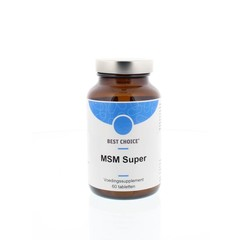 Best Choice MSM super (60 tabletten)