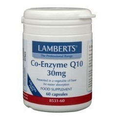Lamberts Co enzym Q10 30 mg (60 vcaps)