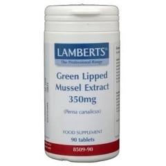 Lamberts Groenlipmossel extract 350 mg (90 tabletten)