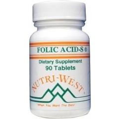Nutri West Folic acid S (90 tabletten)