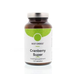 Best Choice Cranberry super (120 tabletten)