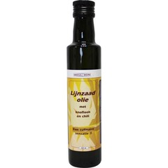 Omega & More Lijnzaadolie garlic chilly (250 ml)