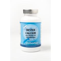 Orthovitaal Oesterkalk & D3 (120 tabletten)