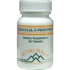 Nutri West Pyridoxal 5 phosphate (90 tabletten)